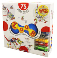 ZOOB 0Z11075 ZOOB 75 Moving Mind-Building Modeling System, Assorted Colors, 75-Pieces