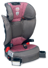 Britax Parkway SGL Belt-Positioning Booster Seat, Cub Pink