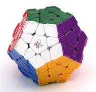 Dayan Megamix Puzzle Cube - Stickerless w/ Corner Ridges