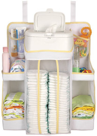 Dexbaby Nursery Organizer, White