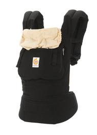 Ergo Baby Original Baby Carrier with New Logo Black Camel