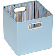 JJ Cole Collections Storage Box, Blue Stripe, 11""