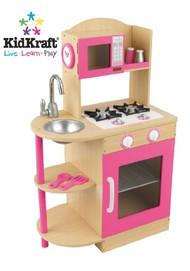 Kidkraft Wooden Kitchen Pink