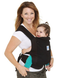 Moby Soft Structured Baby Carrier-Black