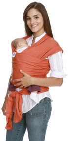 Moby Original Wrap  100% Cotton Baby Carrier, Sienna