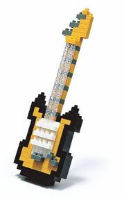 Nanoblock Electric Guitar-Yellow