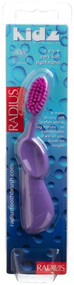 RADIUS Kidz Right Hand Toothbrush, Very Soft Bristles, Age 6 Yrs+, Colors May Vary