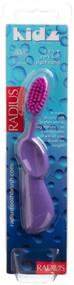 RADIUS Kidz Right Hand Toothbrush, Very Soft Bristles, Age 6 Yrs+, Colors May Vary
