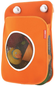 Skip Hop Tubby Bath Toy Organizer, Orange