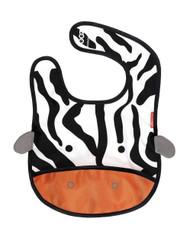 Skip Hop Zoo Bib, Zebra