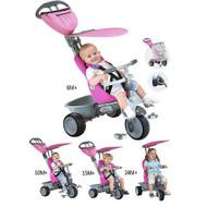 Smart Trike Recliner 4 in 1 Pink