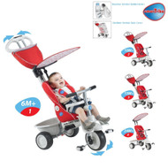 Smart Trike Recliner 4 in 1 Red