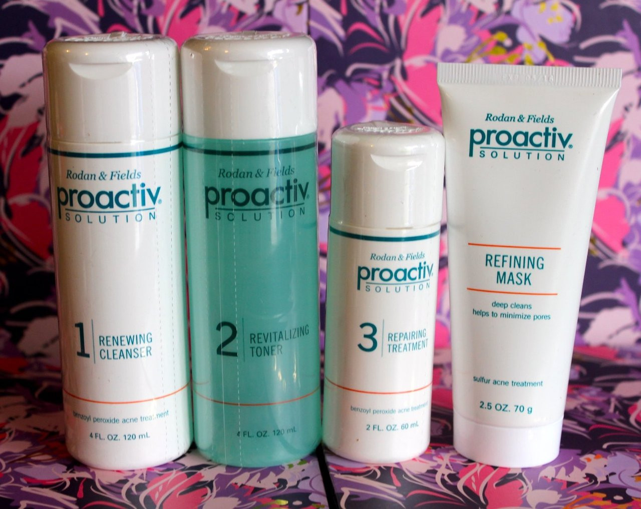 Proactiv Solution 4 Pc Acne Treatment System For Moms