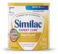 Similac Expert Care NeoSure Infant Formula with Iron, Powder, 13.1 Ounces (Pack of 6)