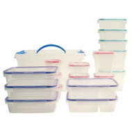 BPA Free Snapware 38 Piece Airtight Plastic Storage Container Set