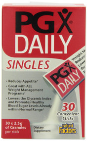 Natural Factors PGX Daily Singles, 2.5 g, 30-Count