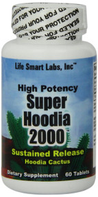 2000 MG Super Hoodia Time Release Hoodia diet pills, 2000mg per 2 cap. serving