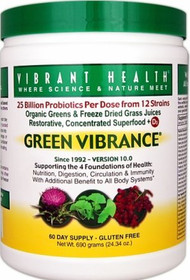 Green Vibrance Powder 60 day supply 25.61 oz
