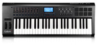 M-Audio Axiom 49 49-Key USB MIDI Keyboard Controller with Semi-Weighted Keys and Assignable Control Surface