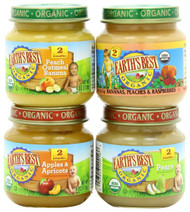Earth's Best Organic Baby Food Fruit Variety Pack (Pack of 12)