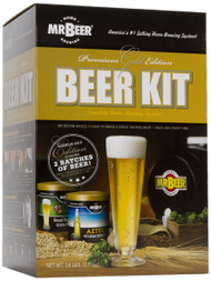 Mr. Beer Premium Gold Edition Home Brewing Craft Beer Kit