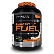 Twinlab 100% Whey Fuel Nutritional Shake, Double Chocolate, 5 Pound