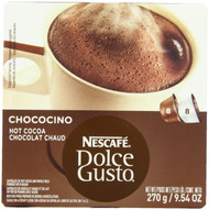 Nescafe Dolce Gusto for Nescafe Dolce Gusto Brewers, Chococino, 16 Count (Pack of 3)
