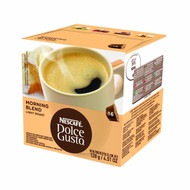 Nescafe Dolce Gusto for Nescafe Dolce Gusto Brewers, Morning Blend (Light Roast), 16 Count (Pack of 3)
