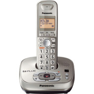 Panasonic KX-TG4021N DECT 6.0 PLUS Expandable Digital Cordless Phone with Answering System, Champagne Gold, 1 Handset