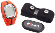 Polar RS300x Heart Rate Monitor, Orange/Black