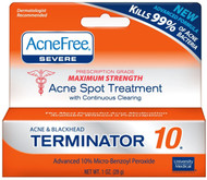 Acnefree Maximum Strength Terminator 10 1 Oz (Pack of 3)