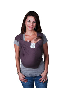 Baby K'tan Baby Carrier, Eggplant, Large