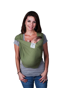 Baby K'tan Baby Carrier, Sage Green, Large