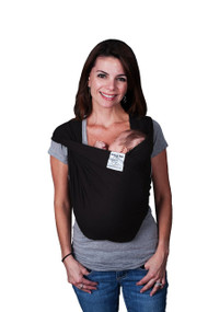 Baby K'tan Baby Carrier, Black, Medium