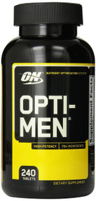 Optimum Nutrition Opti-Men Multivitamins, 240 Count