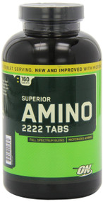 Optimum Nutrition Superior Amino 2222 Tablets, 160 Count