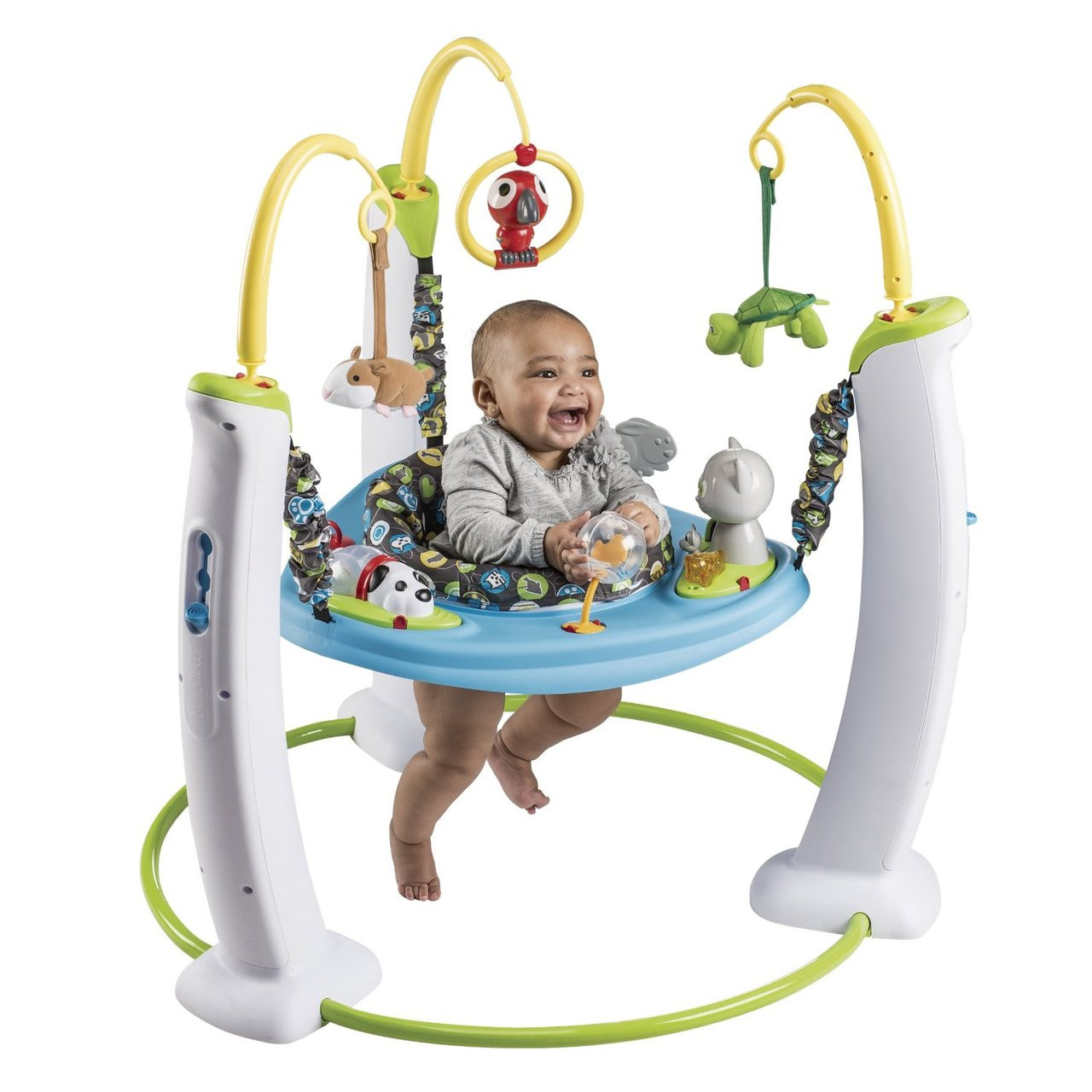 46d0d0477 Evenflo Exersaucer Jump and Learn Stationary Jumper