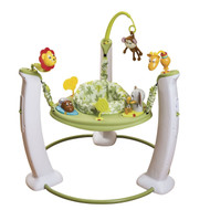 Evenflo Exersaucer Jump and Learn Stationary Jumper, Wild Life Adventure