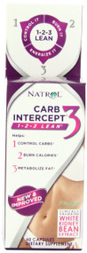 Natrol Carb Intercept 3 Capsules, 60-Count