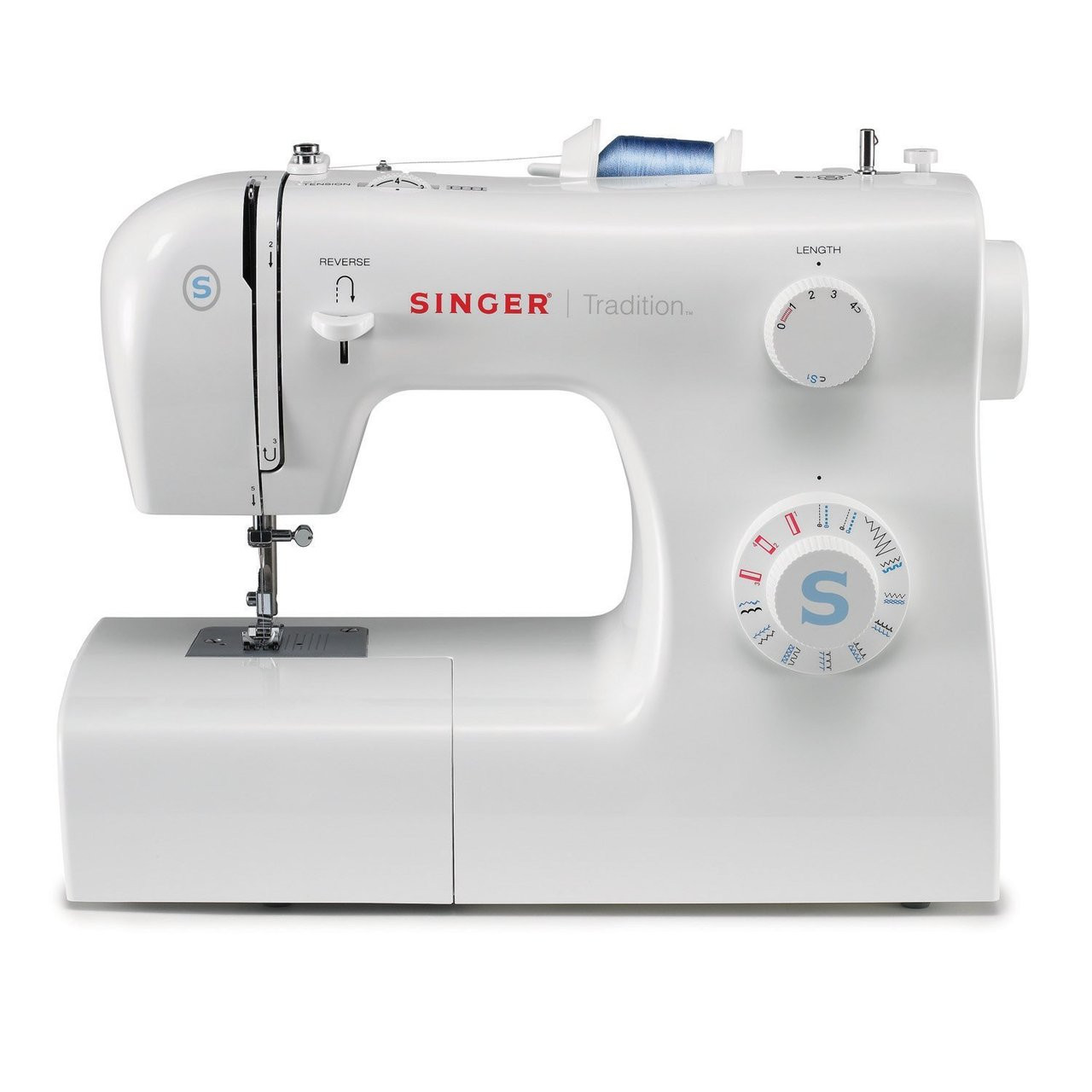 and 4Step Auto Buttonhole Everyday Sewing Machine with 10 Stitches ...