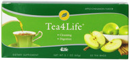 4life Life Tea with Apple Cinnamon flavor Cleansing Tea 30 Tea Bags each (pack of 2)