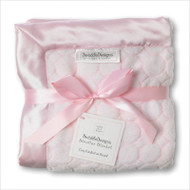 Swaddle Designs NEW Stroller Blanket PASTEI PINK PUFF CIRCLES