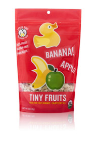 Little Duck Organics Tiny Fruits, Apple & Banana, 1-Ounce Pouches (Pack of 9)