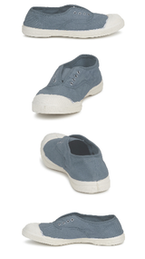 Bensimon Women's Tennis Elly Sneakers - Blue Grey