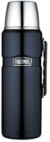 Thermos Stainless King 2-Liter/68-Ounce Beverage Bottle, Midnight Blue