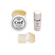 Carat Leather Cleaning Starter Kit - Balsam, Cleaner, Sponge Included