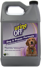 Urine Off PT6009  Dog & Puppy Formula Gallon