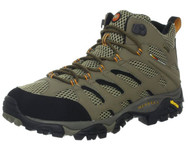 Merrell Men's Moab Mid Gore-Tex Hiking Boot, Dark Tan