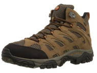 Merrell Men's Moab Mid Waterproof Hiking Boot, Earth