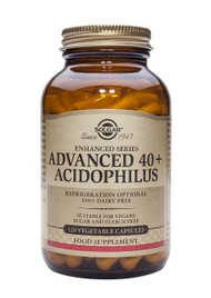 SOLGAR - Advanced 40+ Acidophilus Vegetable Capsules 120